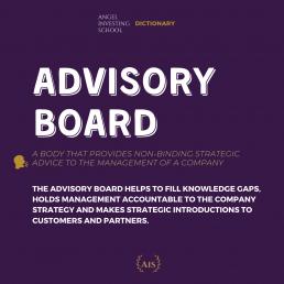 Advisory Board Definition