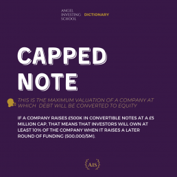 Capped Note