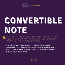 Convertible Note Definition